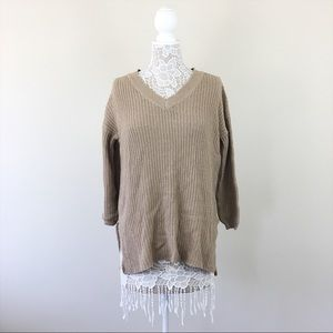 Ambiance Beige Sweater